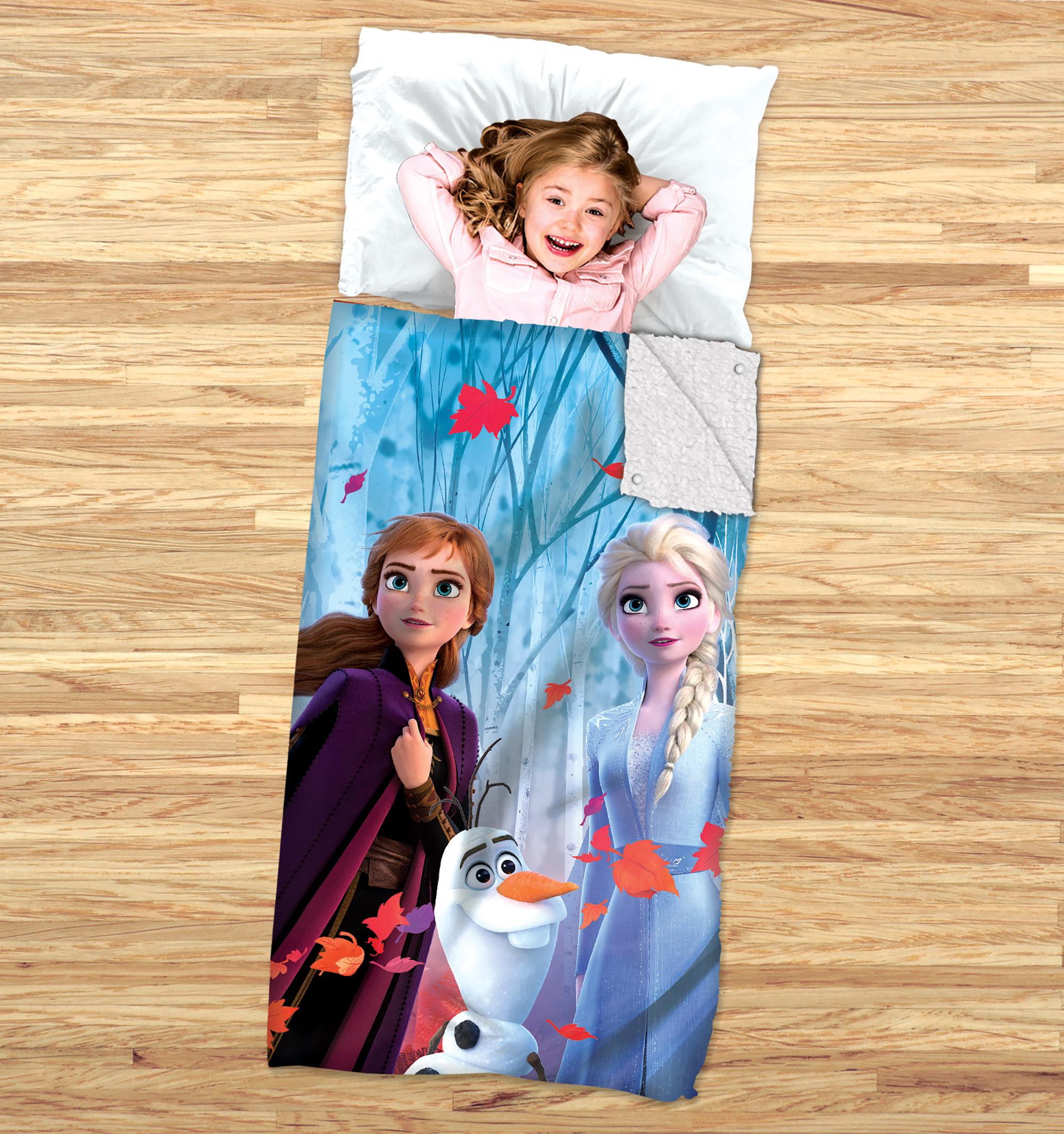 Disney's Frozen 2 Kids 2-in-1 Slumber Bag and Cozy Cover