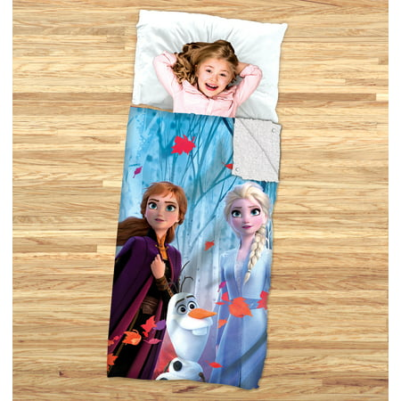 Disney's Frozen 2 Kids 2-in-1 Slumber Bag and Cozy Cover