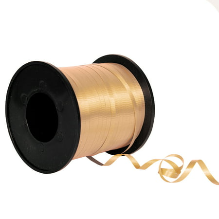 Balloon and Gift Curling Ribbon, Gold, 500yds