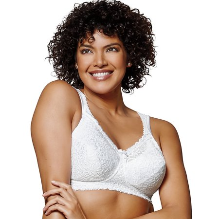 Playtex Womens Comfort Lace Wire Free Bra