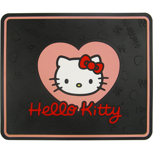 Plasticolor Hello Kitty Heart with Bow Utility Mat