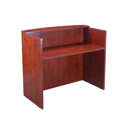 - Boss Office Products Rectangular Reception Desk