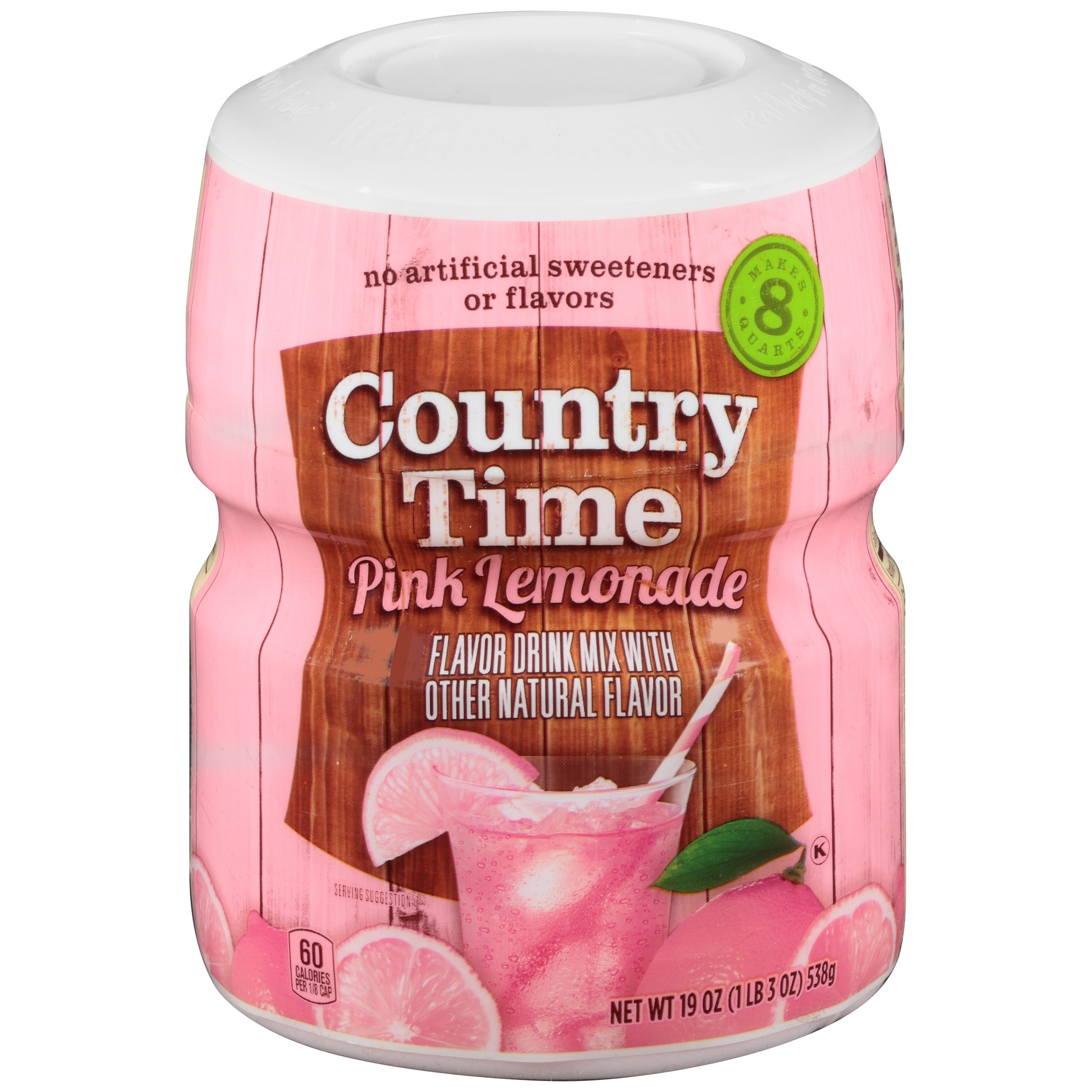 Country Time Pink Lemonade Drink Mix 19 oz. Jar