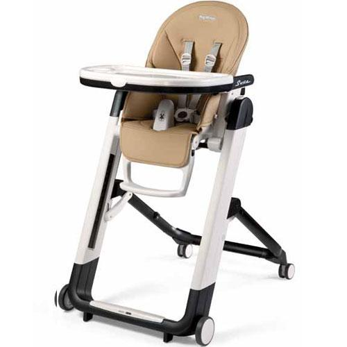 Siesta High Chair - Noce (Beige / Tan)