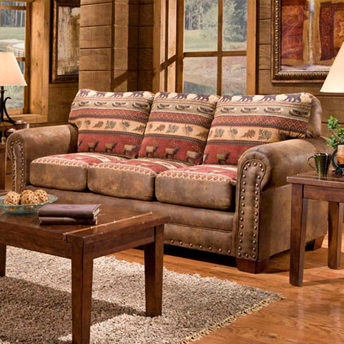 American Furniture Classics Sierra Lodge Sofa by American Furniture Classics