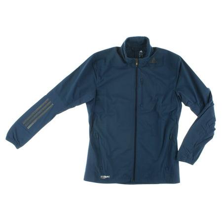 Adidas Mens Supernova Gore Windstopper Running Jacket Navy Blue