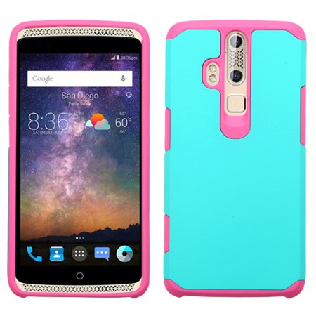 ASMYNA Teal Green/Hot Pink Astronoot Phone Protector Cover for 5200E (Axon Pro) - image 1 of 1