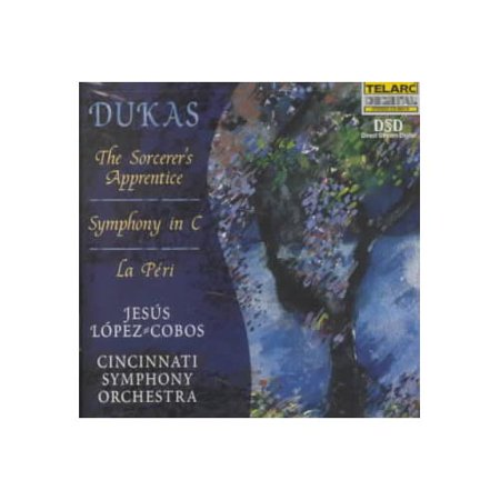 One of the least prolific of composers, Paul Dukas wrote one work that brought him lasting fame: 'The Sorcerer's Apprentice,' thanks to Mickey Mouse's star turn in FANTASIA in addition to the work's own pictorial merits. Beyond this orchestral showpiece, the few works that the highly self-critical Dukas allowed to see the light of day (he destroyed many more) are all colorful and brilliantly crafted, deserving the attention of anyone with a taste for Dukas' impressionist contemporaries.This disc puts 'Sorcerer' in the context of Dukas' other major orchestral scores. The warhorse itself gets a spirited romp, with Jesᅢᄎs Lᅢᄈpez-Cobos and the Cincinnati Symphony finding just the right