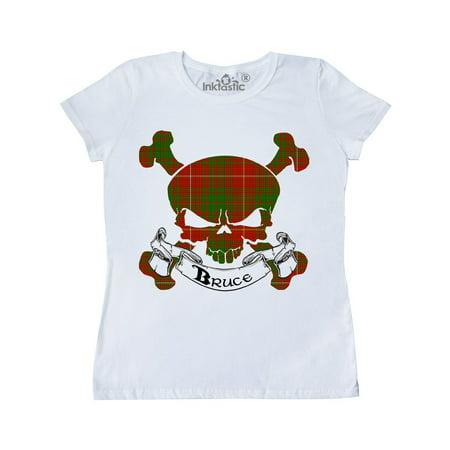 Bruce Tartan Skull Women's T-Shirt ()