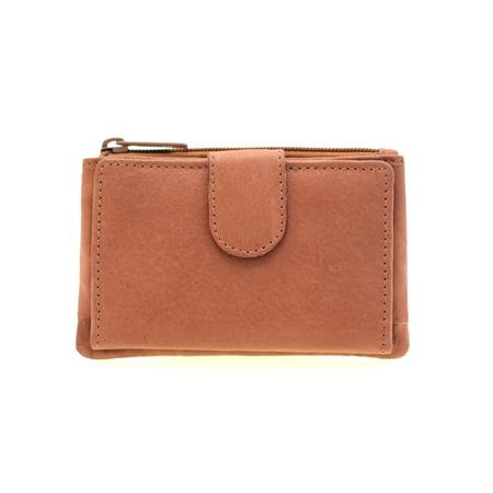 Paul   Taylor - Womens Leather Wallet Button Snap Zipper Compartment  Outside Credit Card Holder - Walmart.com 2e81e28da3