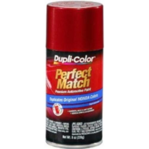 Krylon BHA0959 Perfect Match Automotive Paint, Honda Bordeaux Red Metallic, 8 Oz Aerosol Can
