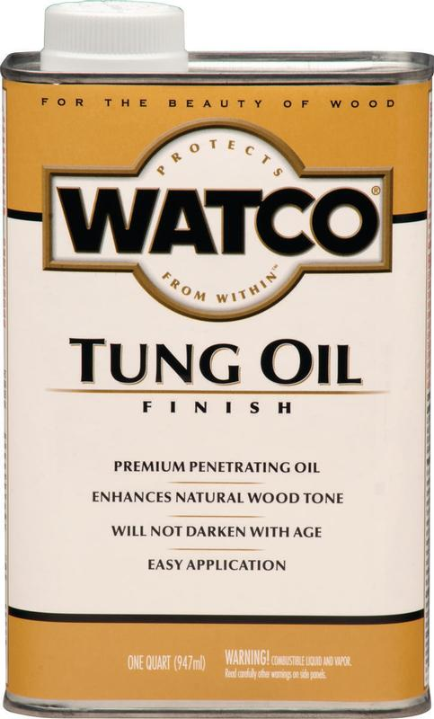 Watco Tung Oil Quart