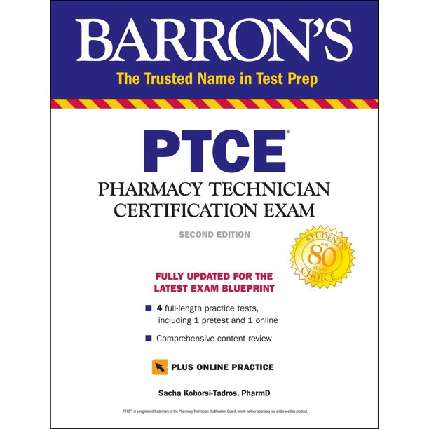 PTCE With Online Test : Pharmacy Technician Certification