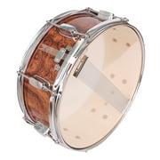 "13 x 3.5"" Snare Drum Poplar Wood Drum Percussion Set Tiger Stripes"