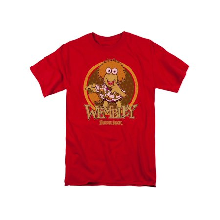 Jim Henson's Fraggle Rock TV Series Wembley Circle Adult T-Shirt Tee - Fraggle Rock Costume