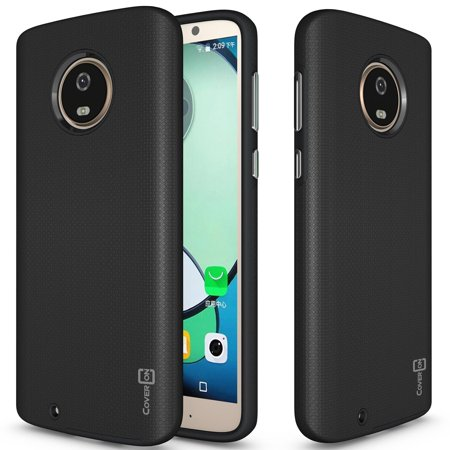 pretty nice 370ab 6d150 CoverON Motorola Moto G6 Case, Rugged Series Protective Hybrid Phone Cover