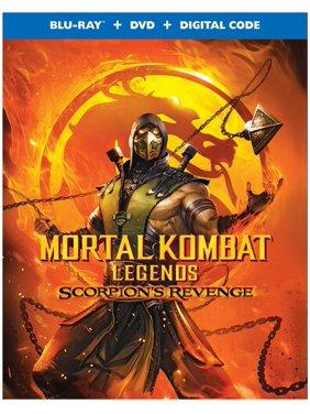Mortal Kombat Legends: Scorpion's Revenge (Blu-ray + DVD + Digital Copy)