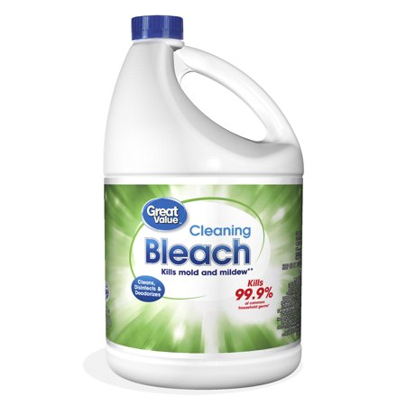 Great Value Cleaning Bleach, 1 gal