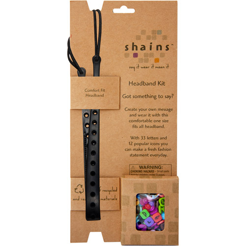 Shains Headband Kit With 45 Elements, Bl