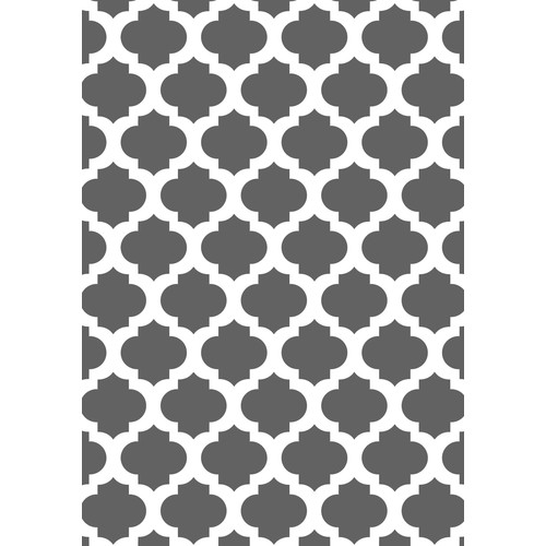 American Cover Designs Concepts Titanium Area Rug