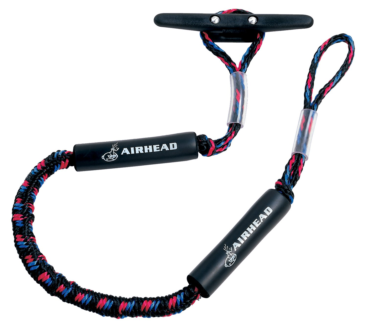 Click here to buy Kwik Tek AIRHEAD AHDL-4 Bungee Dock Line 4 Feet Boat Cord, Stretches to 5.5 Feet.