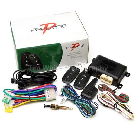 Prestige APSRS3Z Remote Car Auto Start Starter & Keyless Entry Long Range