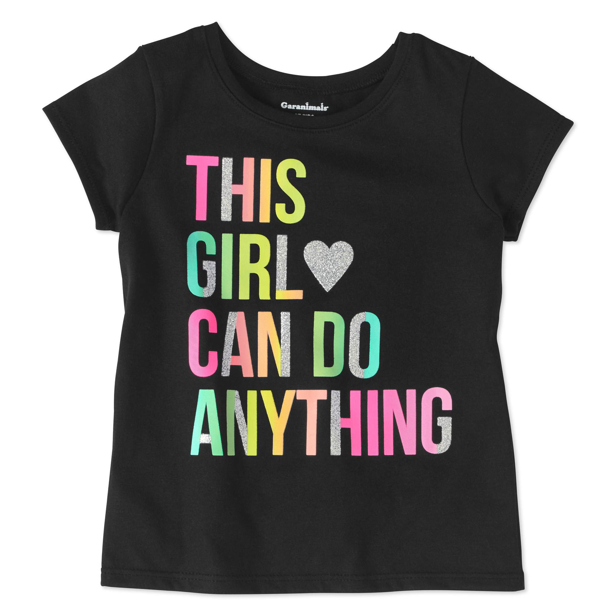 Garanimals Toddler Girls' Short Sleeve Graphic T-Shirt