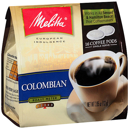 Melitta Colombian Coffee Pods, 16 count