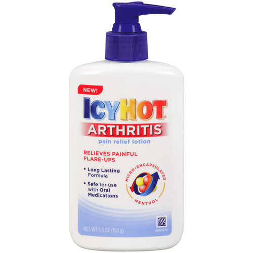Icy Hot Arthritis Pain Relief Lotion, 5.5 oz