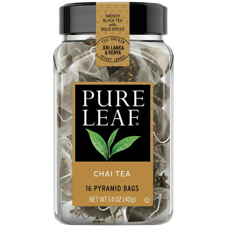 Pure Leaf Hot Tea Bags Chai Tea 16 ct