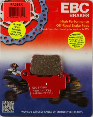EBC X Series Carbon Brake Pads FA368X