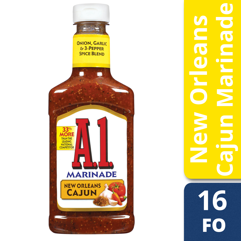 (2 Pack) A.1. Steakhouse New Orleans Cajun Marinade, 16 oz Bottle