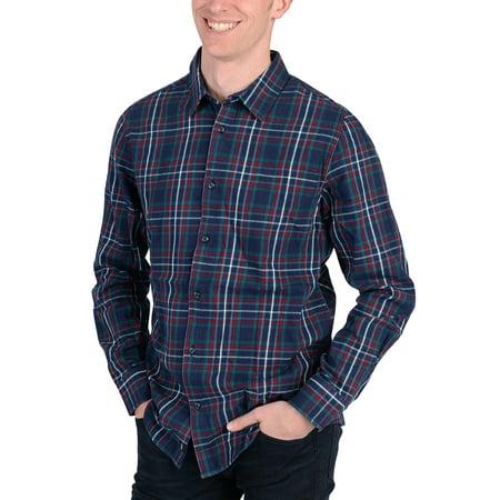 Adidas Mens Checkered Flannel Shirt -