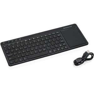 Iogear GKM562R Wireless Keyboard with Touch Pad by IOGEAR