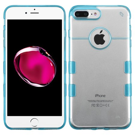 Bb Shell Set - For iPhone 8 Plus 7 Plus Gummy Soft Silicone Phone Skin Shell Case Cover