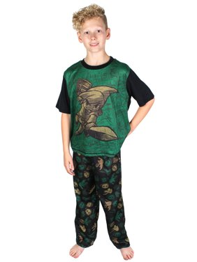 The Legend Of Zelda Boys Link Pajama Two Piece Short Sleeve Sleepwear Set