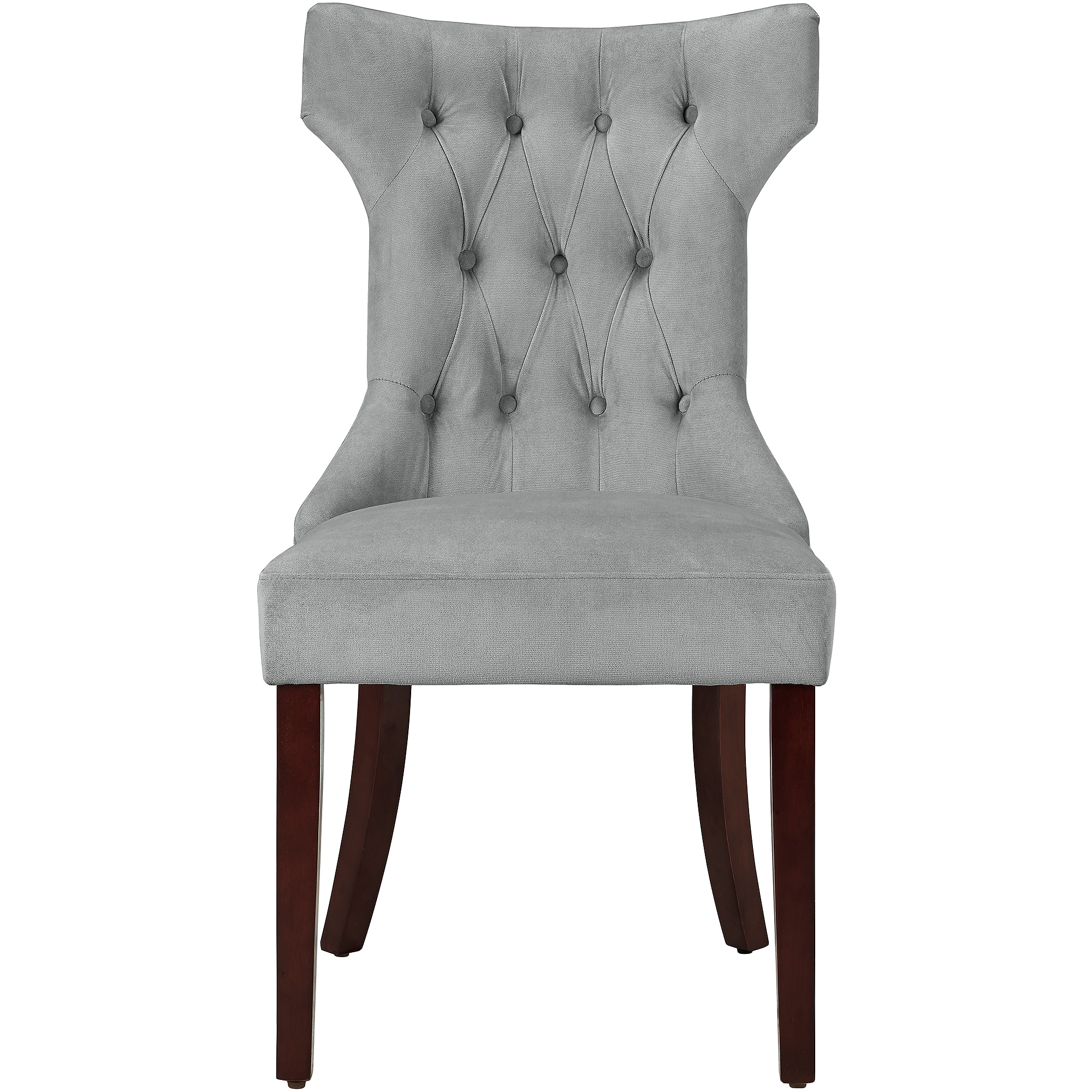 Dorel Living Clairborne Tufted Dining Chair Set of 2 Walmart