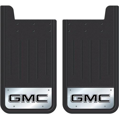 Plasticolor Heavy-Duty Rear Mud Guards, GMC