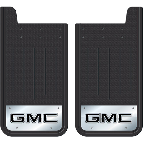 Plasticolor GMC Heavy-Duty Rear Mud Guards