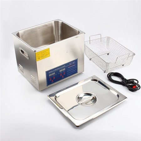 10L Ultrasonic Cleaner,Ultrasonic Jewelry Cleaner with Heat for Jewelry Watch Tools Parts