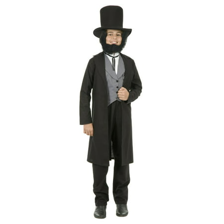 Halloween Abe Lincoln Boy's Child Costume
