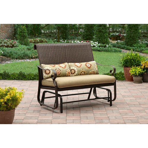 Better Homes and Gardens Riverwood Glider, Tan