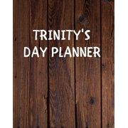 Trinity's Day Planner: Yearly Daily Goal Planer Journal Gift for Trinity / Notebook / Diary / Unique Greeting Card Alternative (Paperback)