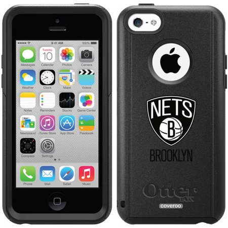 Brooklyn Nets Primary Logo Design on OtterBox Commuter Series Case for Apple iPhone 5c by