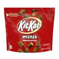 Kit Kat Minis, Milk Chocolate Wafer Bars Candy,7.6 Oz