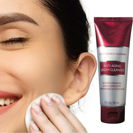 Rich Foaming Cleanser - Rich Hydrating Foam Anti-Aging Cream Cleanser For Smoother, Firmer And More Radiant Skin