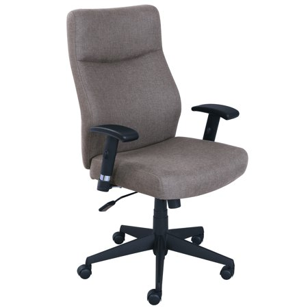 serta style amy office chair light gray fabric walmart com