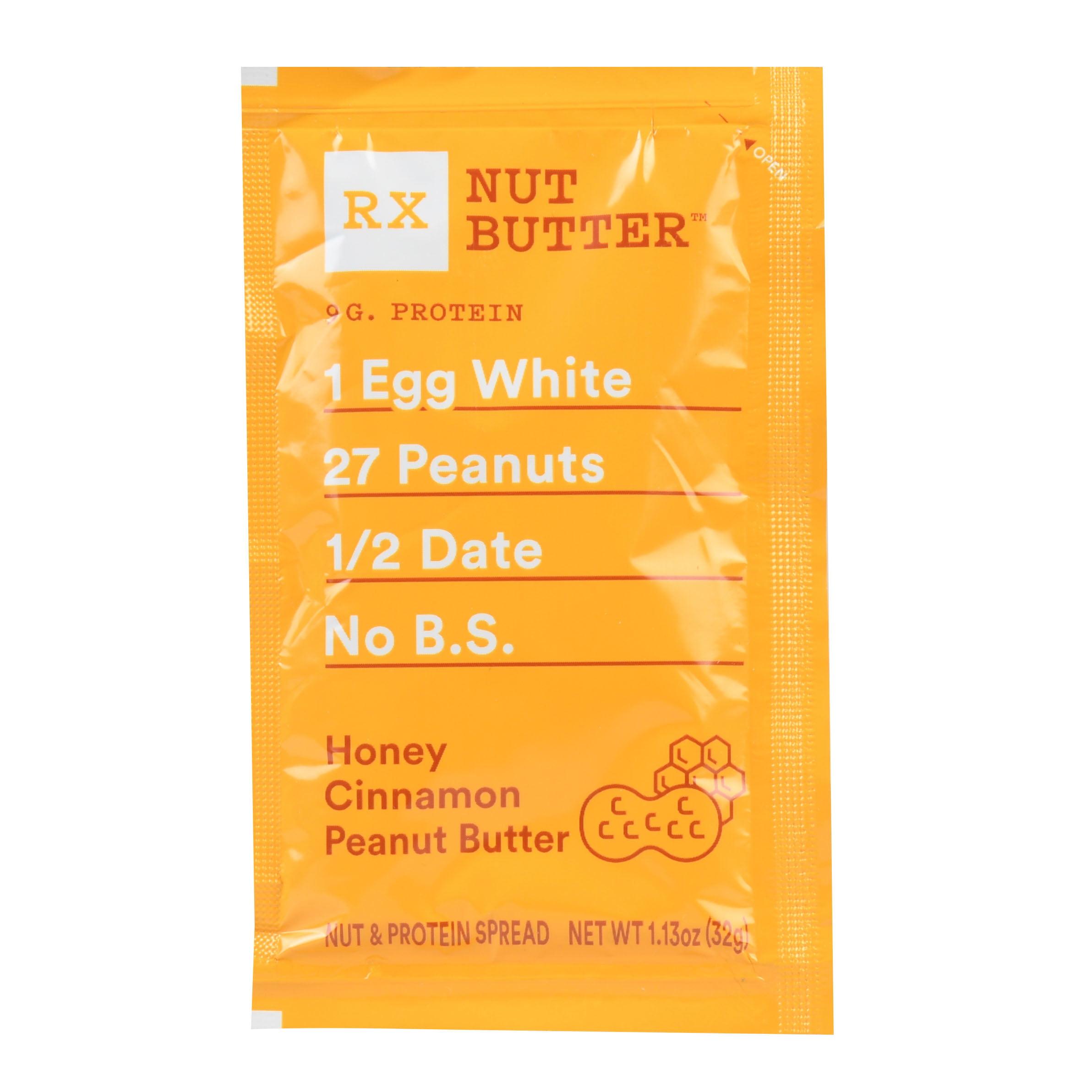 RXBAR Honey Cinnamon Peanut Butter, Nut Butter, Single Serve Packet, 1.13 Oz