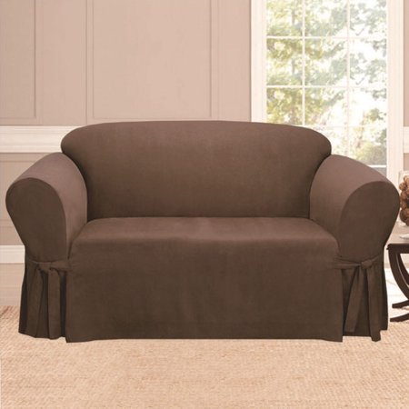 Sweet Home Collection Sofa Skirted Slipcover