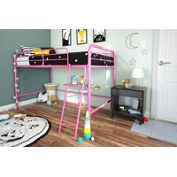 Deals on DHP Junior Metal Loft Bed, Twin Size